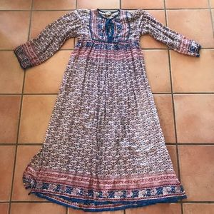 Indian dress • cotton • size small • amazing